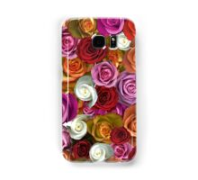 Multi Colored Roses Samsung Galaxy Case/Skin