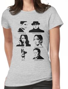 Person of Interest - Team Machine Womens Fitted T-Shirt