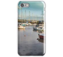 Titchfield Haven Harbour, England iPhone Case/Skin