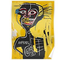 Basquiat AOTKHPES Samo Poster