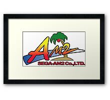 SEGA AM2 JAPAN Framed Print
