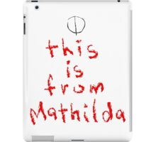 This is from Mathilda iPad Case/Skin