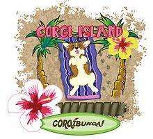 CORGI-BUNGA! by JBrandtDesign
