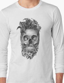beard skulll 1 Long Sleeve T-Shirt