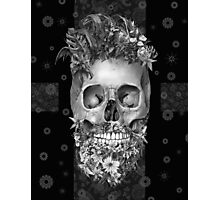 beard skulll 1 Photographic Print