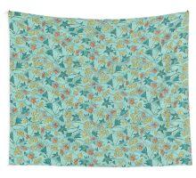 Alpine-Columbine bloom Pattern Wall Tapestry