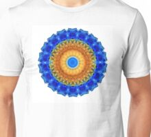 Third Eye Mandala Art by Sharon Cummings Unisex T-Shirt