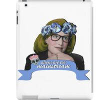 Hipster Scully - Aliens are too Mainstream iPad Case/Skin