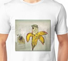 Basquiat banane jaune pourrie ouverte banana yellow Unisex T-Shirt