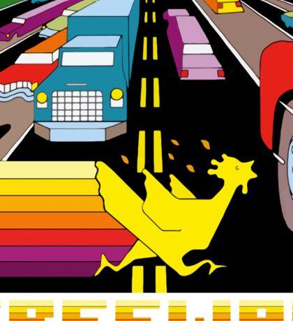 ATARI FREEWAY CARTRIDGE LABEL Sticker