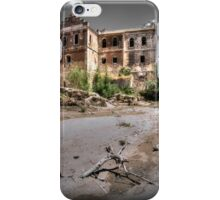 Abandoned, haunted house in Cordoba iPhone Case/Skin