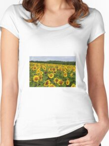 Sunflower Women's Fitted Scoop T-Shirt