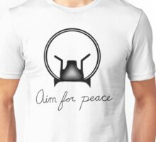 Aim for peace Unisex T-Shirt