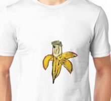 Basquiat banane jaune pourrie ouverte banana yellow 2 Unisex T-Shirt