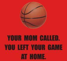 Basketball Game At Home Baby Tee
