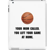 Basketball Game At Home iPad Case/Skin