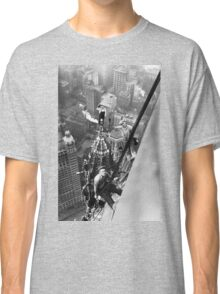Vintage Photo of Workers in New York Classic T-Shirt