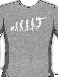 Distressed Volleyball Evolution T-Shirt