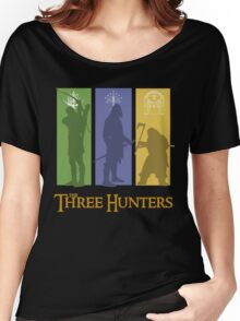 The Three Hunters Women's Relaxed Fit T-Shirt