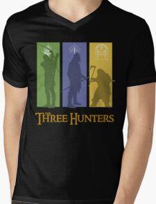 The Three Hunters Mens V-Neck T-Shirt