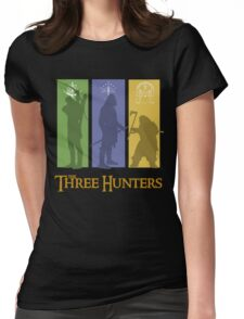 The Three Hunters Womens Fitted T-Shirt