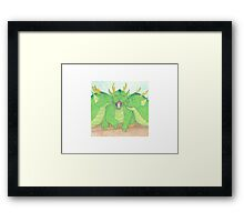 Cuddle Dragons Framed Print