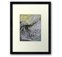 the winding way . . . .  Framed Print