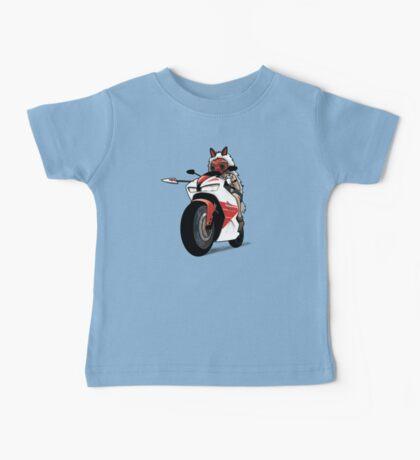 Biker Princess Mononoke Baby Tee
