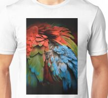 Parrot Feathers Unisex T-Shirt
