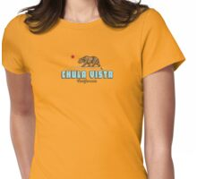 Chula Vista - California. Womens Fitted T-Shirt