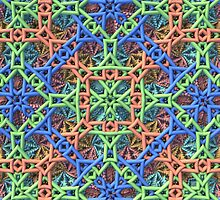 Knitted One - 3-D Fractal by Lyle Hatch