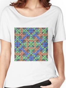 Knitted One - 3-D Fractal Women's Relaxed Fit T-Shirt