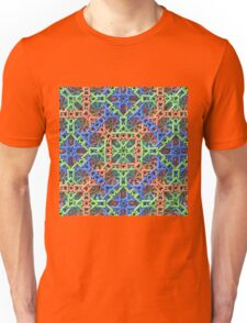 Knitted One - 3-D Fractal Unisex T-Shirt