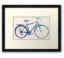 I Want To Ride My Bicycle Framed Print