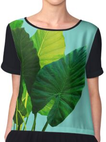 Urban Jungle Chiffon Top