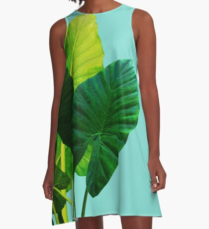 Urban Jungle A-Line Dress