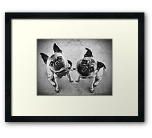 You mean... we are not people?! Framed Print
