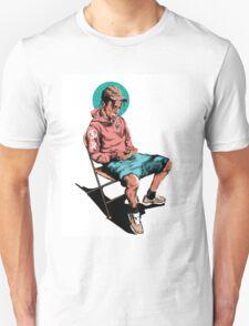 Travis scott in a deckchair dans un transat Unisex T-Shirt