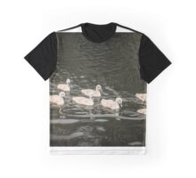 Family of swans Graphic T-Shirt