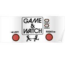 NINTENDO GAME & WATCH Poster