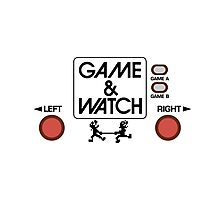 NINTENDO GAME & WATCH Photographic Print