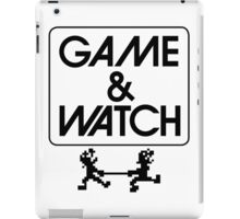 NINTENDO GAME & WATCH iPad Case/Skin