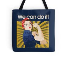 Rosie Riveter Tote Bag