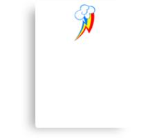 Cutie Mark - Rainbow Dash Canvas Print