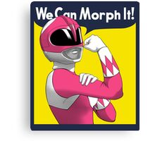 We can Morph it Canvas Print