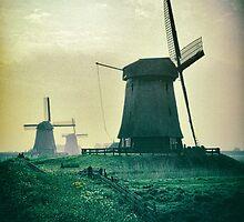 Dutch windmills by ictor