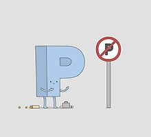 No Parking by Haasbroek