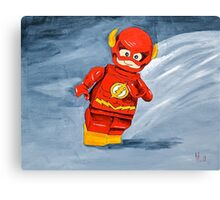 Lego Flash  Canvas Print