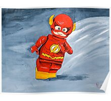 Lego Flash  Poster