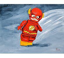Lego Flash  Photographic Print